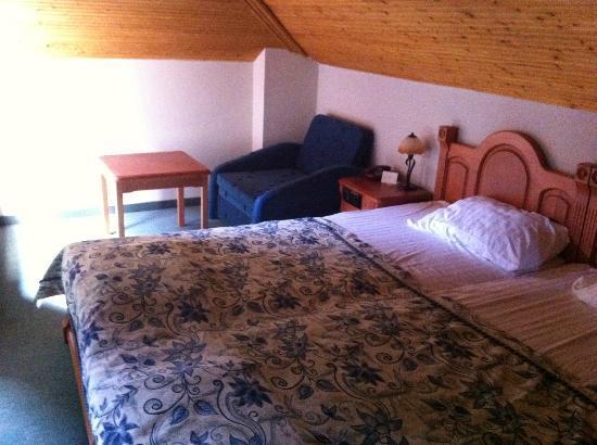 St. Stefan Boutique Hotel  Sunny Beach   BOJ: our room, attic