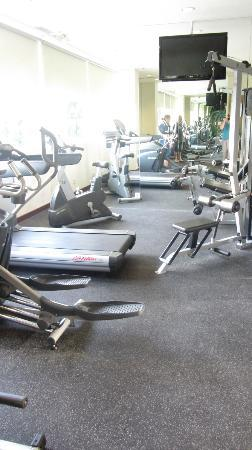 The Seminyak Beach Resort & Spa: Gym. Small but new and great.