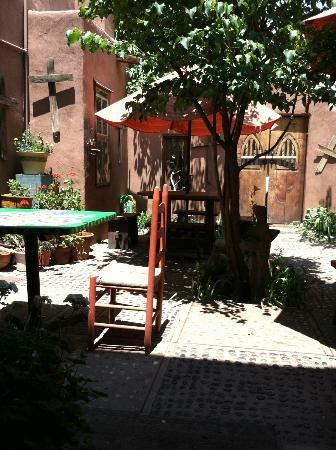 La Dona Luz Inn, An Historic Bed & Breakfast: Patio