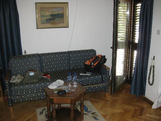 Vila Panonija: Habitación-Sofa