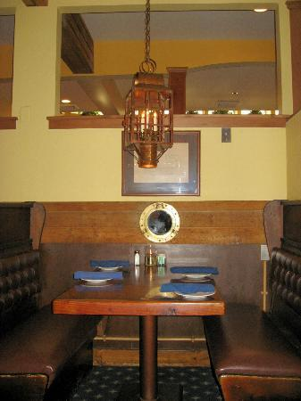 Windjammer Restaurant: Emplacement table