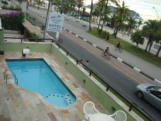 Hotel Vicino al Mare: Excelente localização - enseada