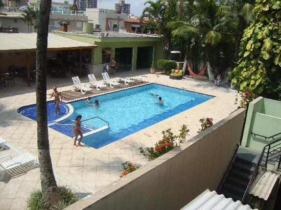 Hotel Vicino al Mare: Área de piscina e lazer mto gostosa