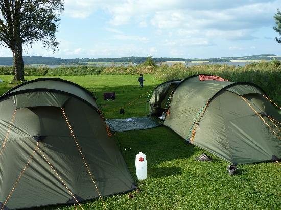 Bunchrew Caravan Park: Tent pitches