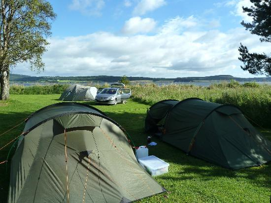 Bunchrew Caravan Park Tent Pitches & Tent pitches - Picture of Bunchrew Caravan Park Bunchrew ...