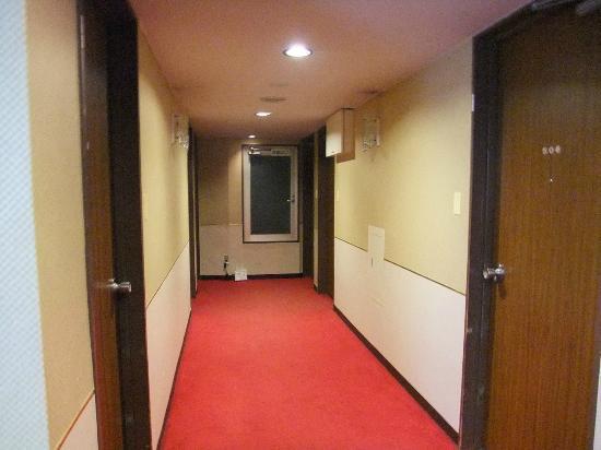 Hotel Suntargas: 廊下です。