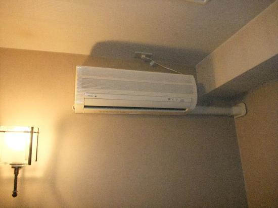Hotel Suntargas: エアコンもあります。