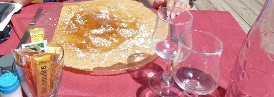 L'Ecureuil : crepe al miele......