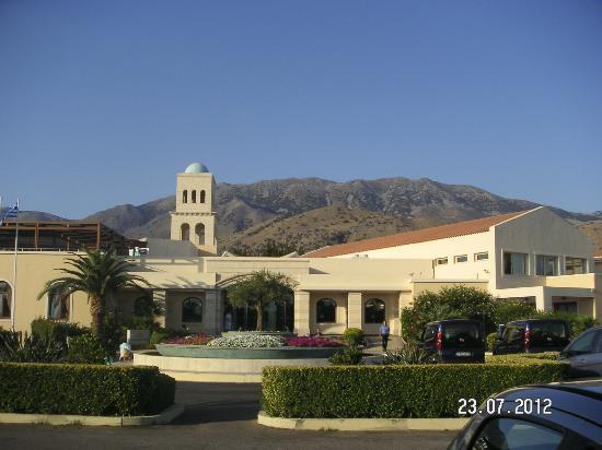 Pilot Beach Resort : Vue hall d'entrée