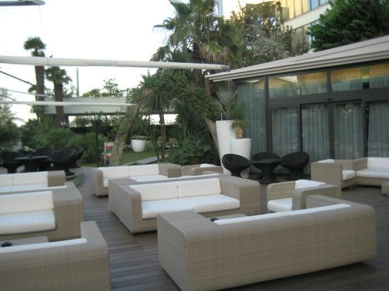Hotel Le Palme: Sa terrasse