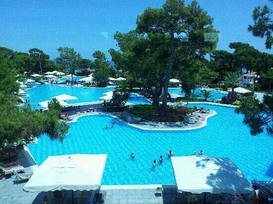 Rixos Sungate:                                     beautiful pools