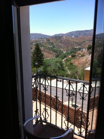 Hotel Villa Frigiliana: great view from our balcony