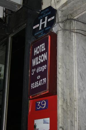 Hotel Wilson : rue de l'hotel des postes, 39