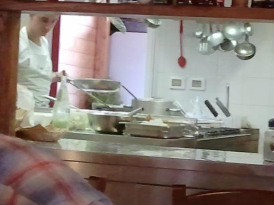 Trattoria Da Bule: la cucina 1