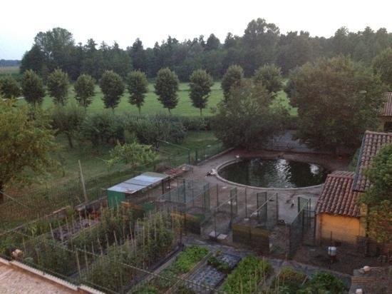 Morimondo, Italy: panorama