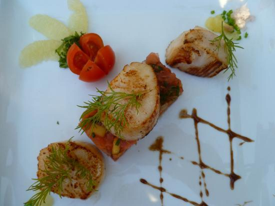 Hotel Du Centenaire : scallops, scallops, scallops!