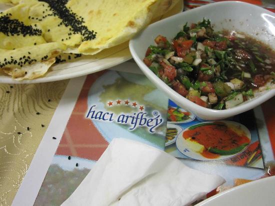 Haci Arif bey : Mezze