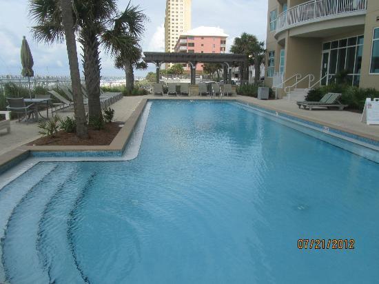 Aqua: poolside