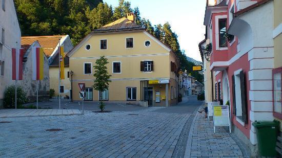 Marktplein van Oberdrauburg
