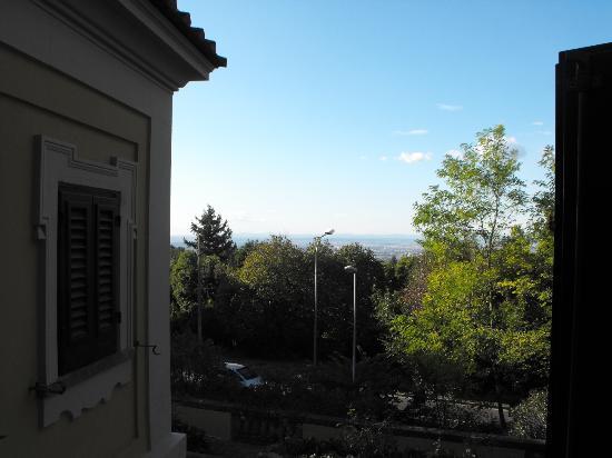 Grand Hotel Villa Fiorio: view from our balcony