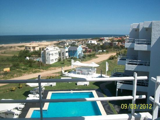 Las Olas Resort Hotel Punta Del Este: Vista del balcon
