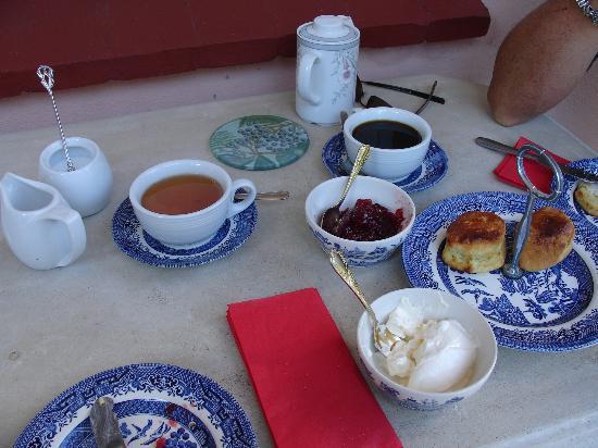 Schloss Frauenmark: Teatime