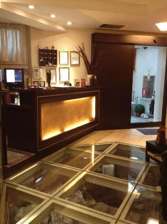 The Lobby Picture Of Hotel Latinum Rome Tripadvisor