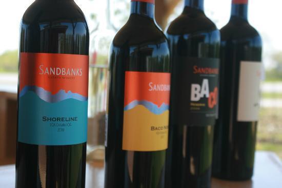 Sandbanks Estate Winery: Wine