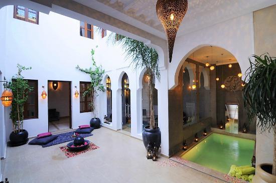 Riad Chayma: Courtyard Rid Chayma Marrakech