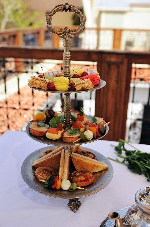 Moroccan Inspired High Tea Riad Chayma Marrakech