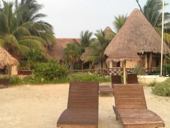 Xaloc Resort: El hotel visto desde la playa