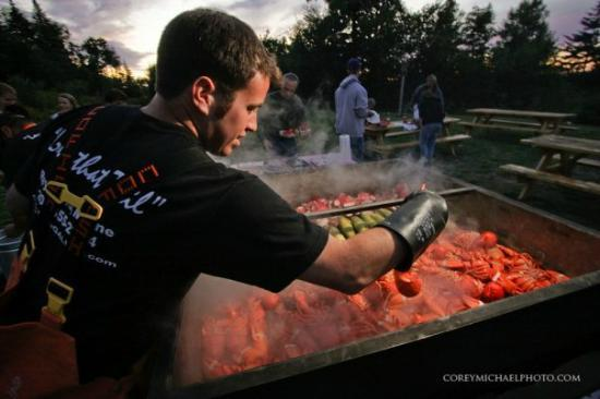 Fisherman's Catch: Have us come to you and cater your parties with a downeast lobster bake.