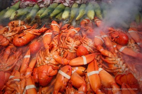 Fisherman's Catch: A look inside the lobster cooker.