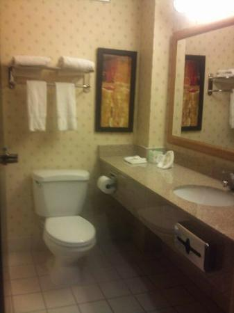 Comfort Inn & Suites: BATHROOMS