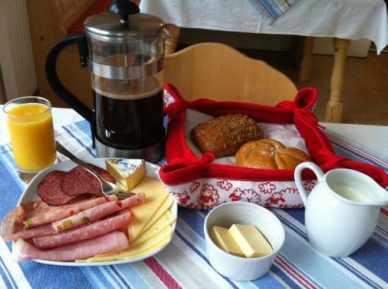 Haus Hepi: breakfast