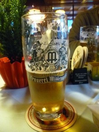 Postkeller : Mittenwalder Beer--try it, you'll like it!