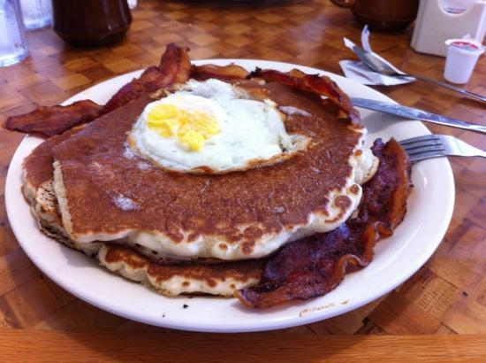 Pancake Haus: pancake con uova