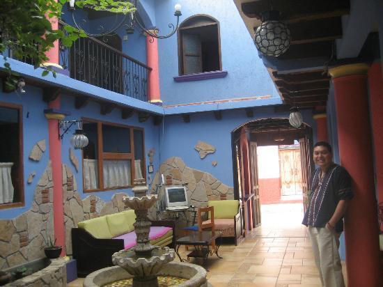 Hotel Posada Tepeyac: Estancia