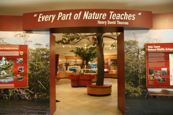 Hobe Sound National Wildlife Refuge: Hobe Sound Nature Exhibit Hall