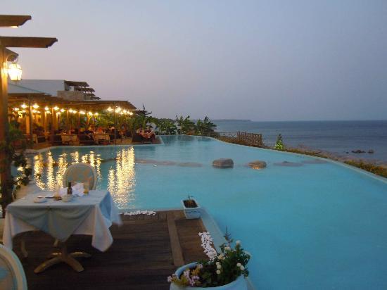 Atrium Prestige Thalasso Spa Resort and Villas : vista