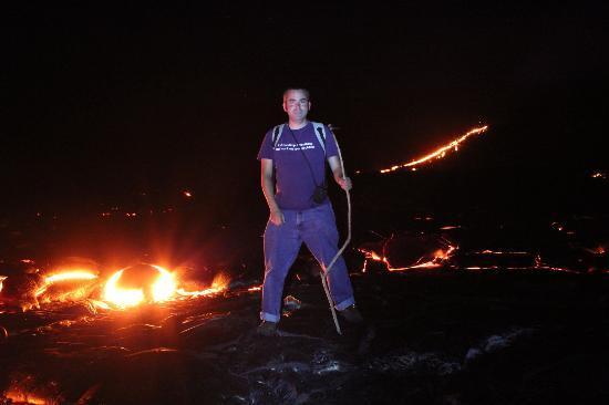 Kalapana Cultural Tours: Lava!