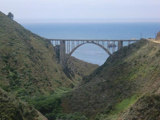 Bixby Bridge: View from the dirt road up the hill