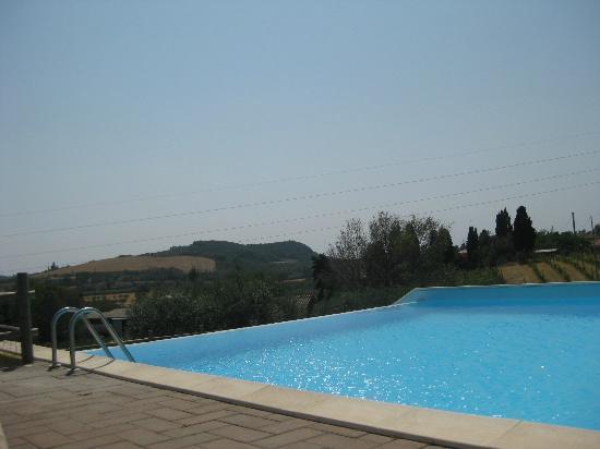Tenuta La Lupa: Vista dalla piscina