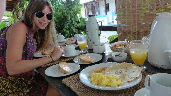 Posada La Laguna: Desayuno