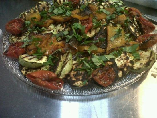 Brown Deli: Mixed roasted veggies, yummy in a salad bowl or in one of our fantastic sandwich combos