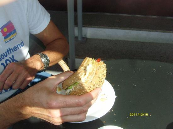 Brown Deli: Turkey scooby snacks!