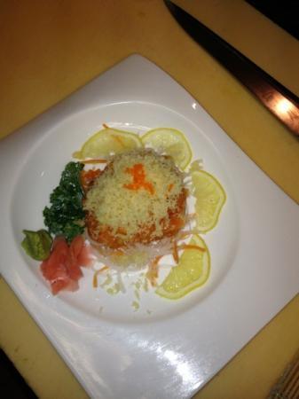 Fuji Yama Cuisine : spicy tuna in bowl