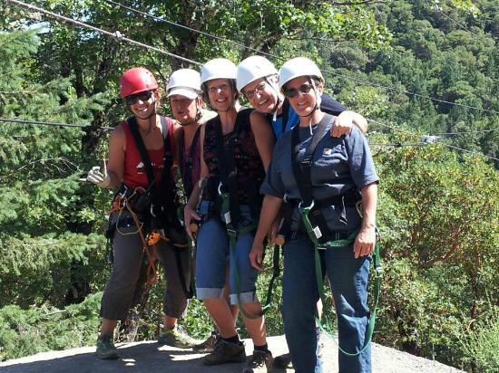 Rogue Valley ZipLine Adventure: All Geared Up & Ready To Fly!