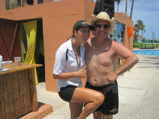 Holiday Inn Resort Los Cabos All-Inclusive: Thanks to Rocio for a great time.