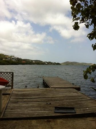 Naniqui Guest House & Rentals:                   dock behind rooms